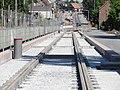 Travaux de la branche vers Vieux-Condé de la ligne B du tramway de Valenciennes en mai 2012 (084).JPG