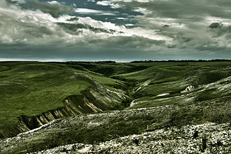 Ilovlinsky District - Landscape near the stanitsa of Tryokhostrovskaya in Ilovlinsky District