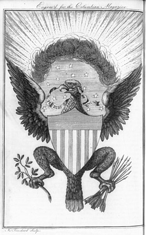 Seal of the United States Senate - Trenchard's 1786 Great Seal