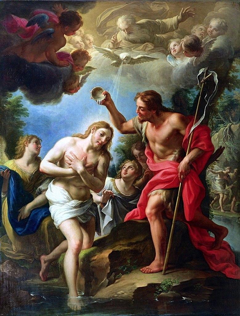 Trevisani baptism christ