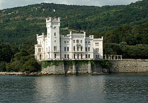 Carl Junker -  Miramare Castle in Trieste