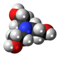Triethanolamine 3D spacefill.png