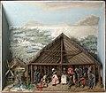 Tropenmuseum Royal Tropical Institute Objectnumber A-6371b Diorama van dansende en musicerende Bo.jpg
