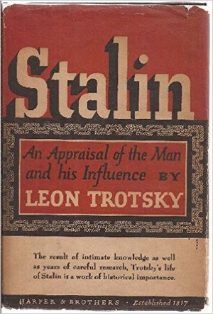 Stalin (Trotsky book) - The cover of the first edition (1946)
