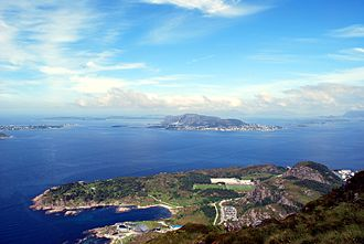 Giske - View of the islands of Giske