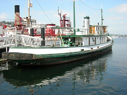 Arthur Foss, in King County Tugboat Arthur Foss 04.jpg