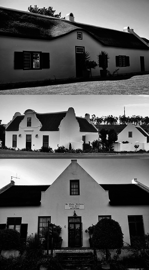 Tulbagh - Church Street, Tulbagh, restored houses