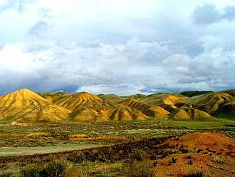 San Benito County, California - Tumey Hills BLM recreation area, near Interstate 5
