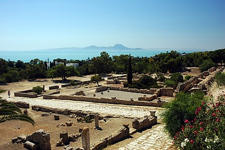 Ruins of Carthage Tunisie Carthage Ruines 08.JPG