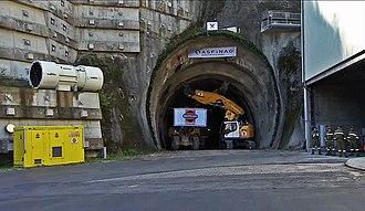 Karawanks Tunnel (motorway) - Start of construction, East-Tube, Austria, September 18, 2018