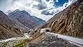 Tunnels on the Karakoram Highway in Pakistan.jpg
