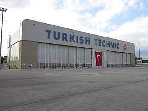 Turkish Technic - Turkish Technic Hangar at Esenboğa International Airport