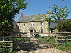 Caundle Marsh - Image: Tut Hill Farmhouse geograph.org.uk 420867