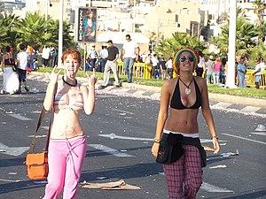 Love Parade - LoveParade in Tel Aviv.