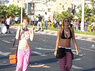 Love Parade - LoveParade in Tel Aviv.