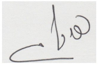 Tzipi Livni - Signature