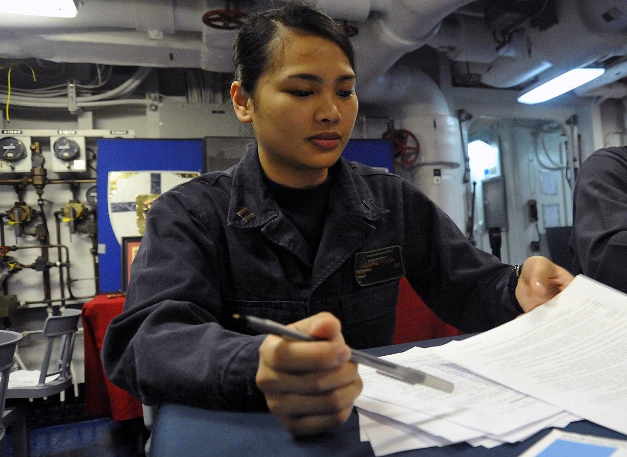 File U S Navy Lt Katrine Rocha Reviews Reactor