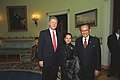U.S. President Bill Clinton with Philippine President Fidel V. Ramos and Philippine Senator Gloria Macapagal-Arroyo.jpg