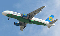 UK32011 - A320 - Uzbekistan Airways