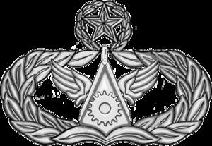 James A. Roy - Image: USAF Master Civil Engineer Badge 2