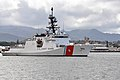 USCGC Waesche (WMSL-751) leaves Paerl Harbor in July 2014.JPG