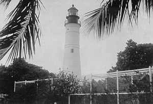Key West lighthouse - Current Lighthouse, U.S. Coast Guard Archive