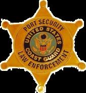 USCG Port Security Law Enforcement Badge