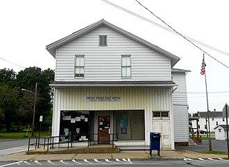 Howard, Pennsylvania - Image: USPO Howard PA 16841 & IOOF