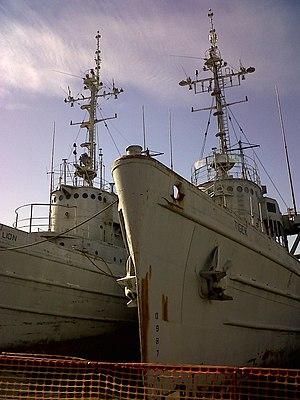 Abnaki-class tug - USS Moctobi (Lion) and USS Quapaw (Tiger) in 2011