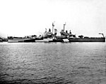 USS Birmingham (CL-62) off the Mare Island Naval Shipyard, 7 February 1944.jpg