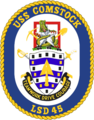 USS Comstock LSD-45 Crest.png
