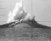 USS Devilfish sunk as target 1968