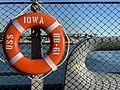 USS Iowa - life buoy.jpg