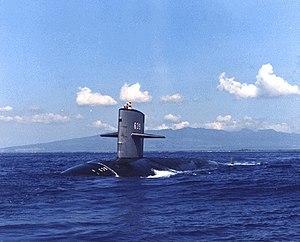 USS Tautog (SSN 639) Sturgeon Class Fast Attack