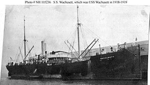 USS Wachusett (ID-1840) - USS Wachusett