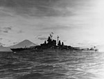 USS West Virginia (BB-48) anchored in Sagami Wan, Japan, August 1945.jpg