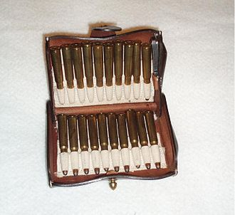 .30-40 Krag - A replica of the McKeever-pattern .30 US Army cartridge case.