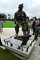 US Army 50901 Steel beam, Rescorla statue unveiled.jpg