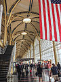 US Flag at Reagan Airport Arlington Virginia (17302962788).jpg