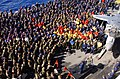 US Navy 030128-N-3181R-001 More than 1,000 Sailors and Marines gather at a Commanding Officer's Call.jpg