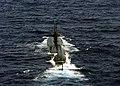US Navy 030922-N-7748K-001 USS Albuquerque (SSN 706) steams through the Atlantic Ocean.jpg