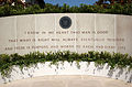 US Navy 040614-N-5598W-007 The tomb and monument located behind the Ronald Reagan Library in Simi Valley, Calif., where former President Ronald W. Reagan was laid to rest.jpg