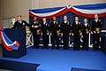 US Navy 090116-N-7526R-016 Rear Adm. David Mercer congratulates seven Sailor of the Year candidates during a ceremony at Naval Support Activity Naples.jpg