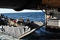US Navy 100829-N-7293M-109 A landing craft utility enters the well deck of the amphibious transport dock ship USS Ponce (LPD 15) after the ship got underway from Morehead City, N.C.jpg