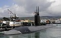 US Navy 100910-N-3560G-002 The improved Los Angeles-class attack submarine USS Greeneville (SSN 772) departs Joint Base Pearl Harbor-Hickam for a s.jpg