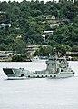 US Navy 110428-F-HS649-123 Landing Craft Heavy (LCH) L126 HMAS Balikpapan transits through Segond Channel.jpg