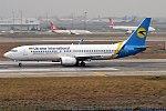 Ukraine International Airlines, UR-PSS, Boeing 737-8AS (25083812757).jpg