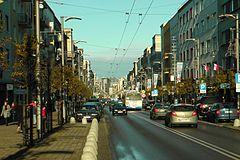Widok w kierunku Placu Kaszubskiego.