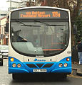 Ulsterbus bus 838 (GEZ 7838) 2006 Scania L94UB Wright Solar, 6 March 2009 (2).jpg