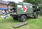 Vehicle of the Sanitätsdienst